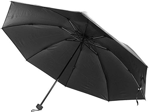 [ラドウェザー] 折りたたみ傘 メンズ レディース 大きくて、カーボン製で超軽量 傘 大きい 雨傘 軽量 折れない 風に強い 折り畳み傘 (ブラック(トップレス式))