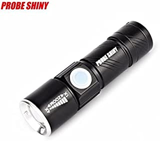 Cinnamou Ajustable Zoom 3000LM MINI USB linterna LED Mini Portátil USB recargable Antorcha linternas de exterior Accesorios de herramientas eléctricas
