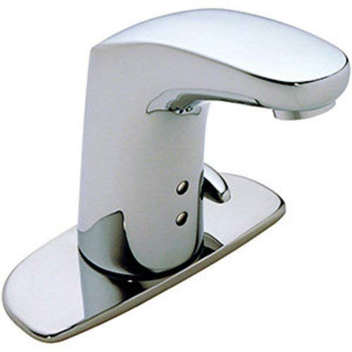 Symmons S-6080-AC-12V Ultra-Sense sensor faucet, No Drain, Polished Chrome