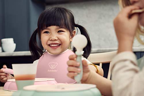 『ベビービョルン 【日本正規品保証付】 ベビーディナーセット パウダーピンク』の3枚目の画像