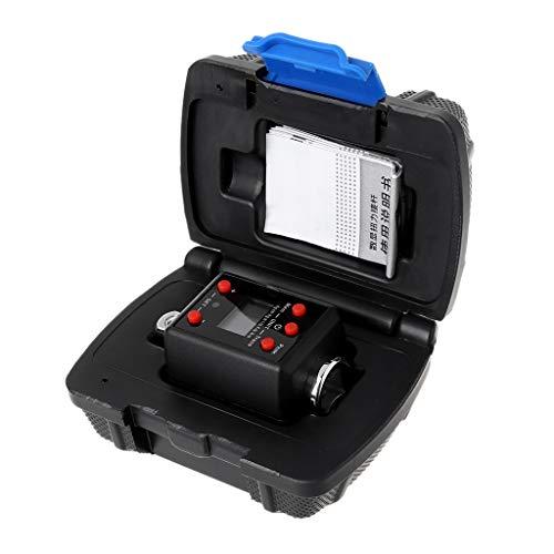 Sheuiossry Digitaler Drehmomentschlüssel mit hohem Drehmoment, 1,5–1000 nm, Adapter, 1/4 3/8 1/2 3/4 Antrieb, Mikrodrehmoment-Reparaturwerkzeug für Mechanik, Ingenieur und Heimwerkeraufgaben