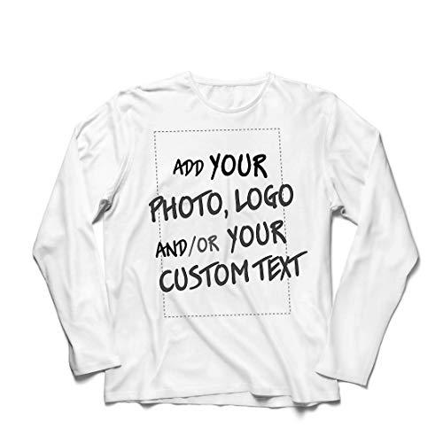 lepni.me Heren T-Shirt Aangepaste Gepersonaliseerde Gift Toevoegen Bedrijf Logo Eigen Ontwerp of Foto