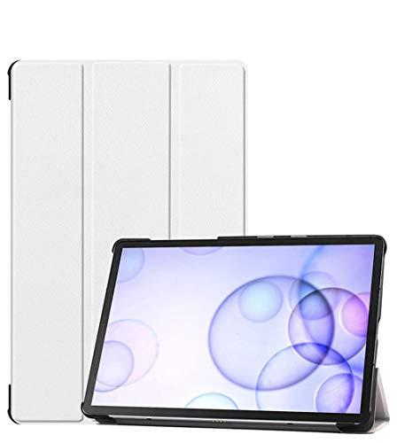 XIAOYAN Funda protectora para Samsung Galaxy Tab S5E de 10,5 pulgadas, SM-T720, piel hibernación T725C, con soporte anticaídas, color blanco