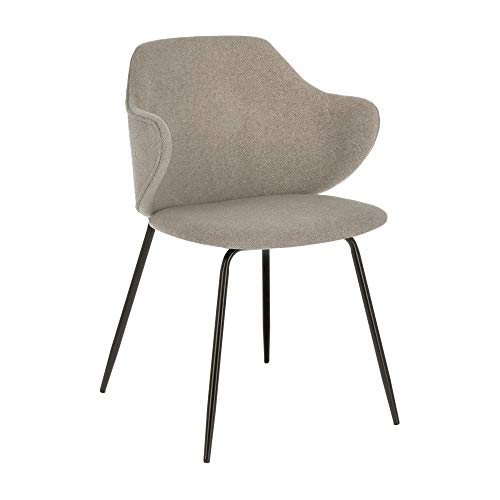 Kave Home - Silla Suanne gris claro