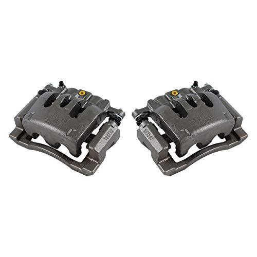 Callahan CCK02479 [2] REAR Premium Grade OE Semi-Loaded Caliper Assembly Pair Set
