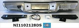 OE Replacement Nissan/Datsun Pickup Rear Bumper Face Bar (Partslink Number NI1102128)
