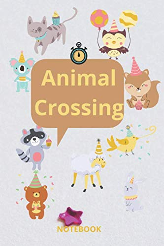 Animal crossing notebook: 6*9 inch / 120 pages