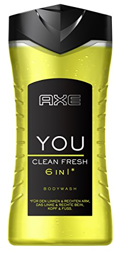 Axe Duschgel You Clean Fresh, 6er Pack (6 x 250 ml)