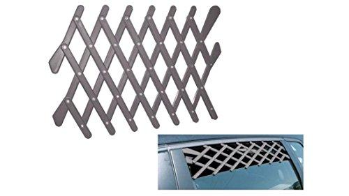 2 Stück Frischluftgitter für Autofenster Hundegitter zur Belüftung