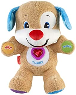 Fisher Price Laugh and Learn Smart Stages Puppy CJW26 Soft Toy (Speaks English and Arabic)
