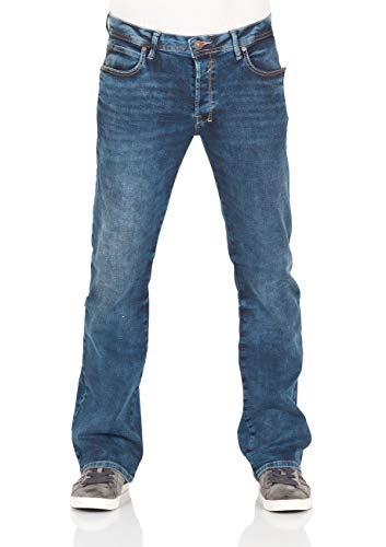 LTB heren jeans broek Roden Basic Stretch jeansbroek Bootcut blauw Lapis Wash w28-w40