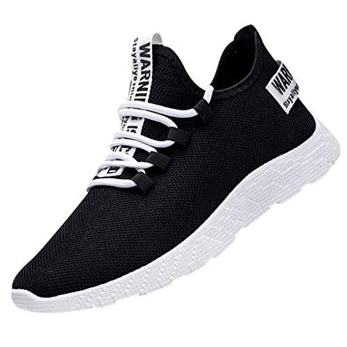 S&H-NEEDRA Chaussure De Securité Homme, Baskets Mode Homme Outdoor Coussin Air De la Dentelle Tissage Volant Fonctionnement Touristique Loisir Fitness Chaussures Sports Sneakers 2019 Nouveaux