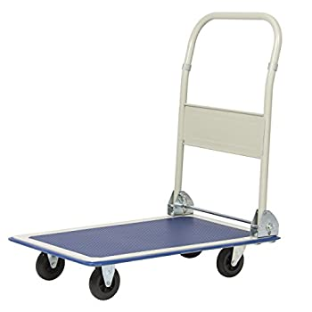 Platform Cart Folding Dolly Foldable Warehouse Moving Push Hand Truck by Best Choice Products