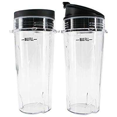 Single Serve 16-Ounce Cup Set for BL770 BL780 BL660 Professional Blender (Pack of 2) from BESSEEK
