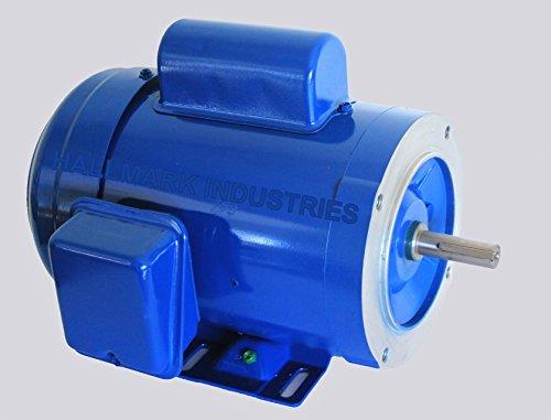 Hallmark Industries AC Motor, (1 HP, 1725RPM, 1 phase, 115/230V)