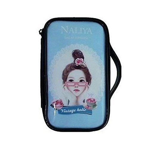 Mode étanche Cas de maquillage de Voyage sac cosmétique de toilette, Bleu Girl