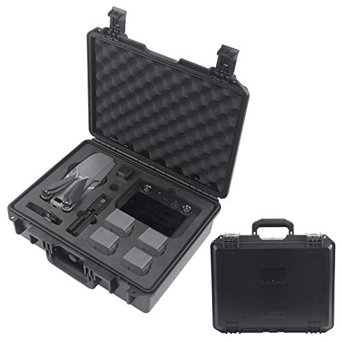 Mavic 2 Professional Carrying Case-Waterproof Hard Shell Case Compatible for DJI Mavic 2 Pro/Mavic 2 Zoom with Standard Remote Controller or Smart Controller Fly More Combos and Accessories.
