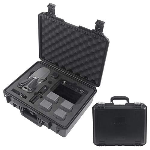 Mavic 2 - Funda de transporte profesional resistente al agua compatible con DJI Mavic 2 Pro/Mavic 2 Zoom con mando a distancia estándar o mando inteligente Fly More Combos y accesorios.
