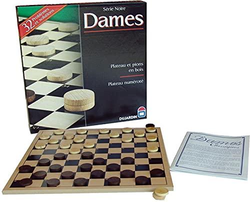 Dujardin Jeux - Grand Classique - Série Noire Dame Plateau