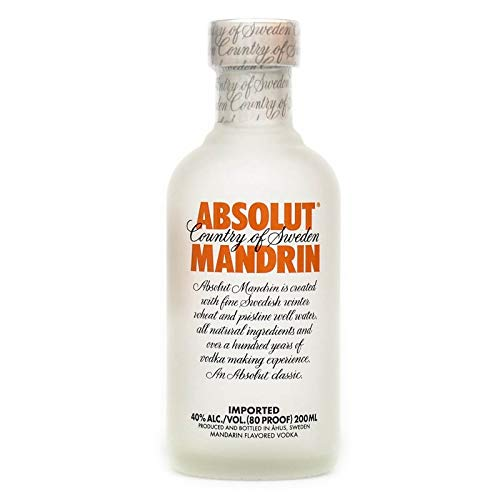 Absolut Vodka Mandrin 200ml 40% Vol.