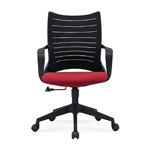 smzzz Bürostuhl Chefsessel, S-förmiger Lehne, Design Klassiker, Schreibtischstuhl ergonomisch, Büro Sessel, Drehstuhl, Schwarz