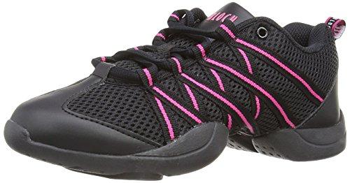 Bloch 524 Criss Cross Dance Sneaker, Pink - rose - Größe: 36 1/3 EU