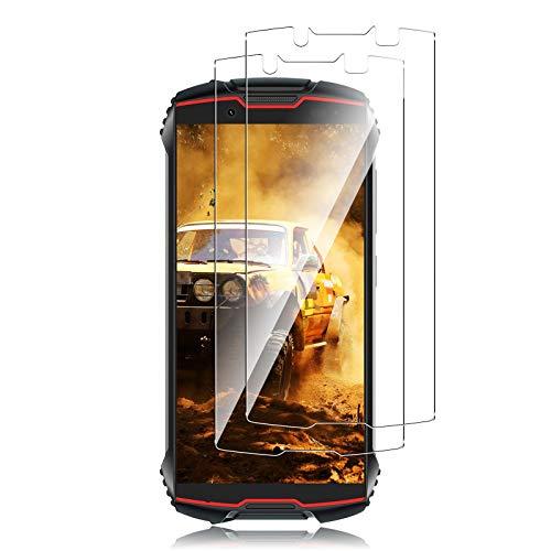 QULLOO para CUBOT Kingkong Mini 2 Protector de Pantalla,[2 Pack] 9H Dureza Vidrio Templado Sin Burbujas Antiarañazos Antihuellas Protector de Cristal Templado Premium -Transparent