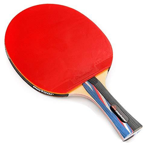 Pala Tenis de Mesa Ideal para Principiantes y avanzados - la Raqueta de Tenis de Mesa para niños y Adultos - Raqueta Mesa Ping Pong para Entrenamiento y Partidos (3 Estrellas)