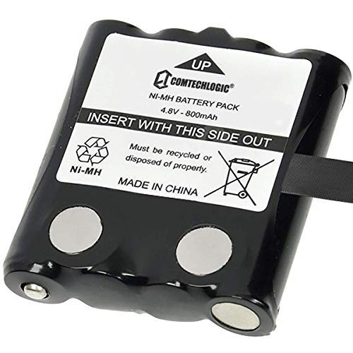 Comtech CM - 15BT 800mAh Batteria Ricaricabile Confezione per Motorola Walkie-Talkie Radio A Doppia Uscita