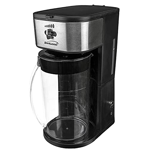 Brentwood KT-2150BK Iced Tea and Coffee Maker with 64 Ounce...
