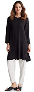 Silk Crepe Black Dress L MSRP $358.00