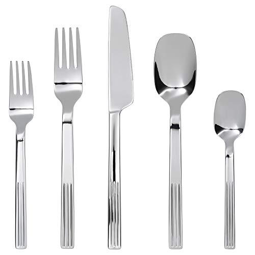 IKEA Justera 20-Piece Flatware Set, Stainless Steel