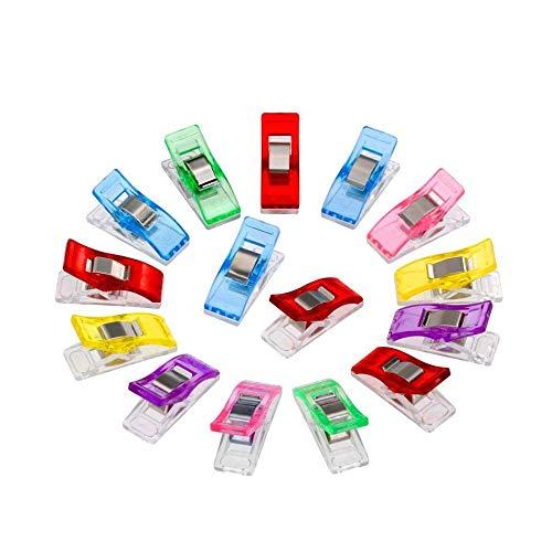 10 Mini Prendedor Clips Prender Plásticos Pequenos Sortidos