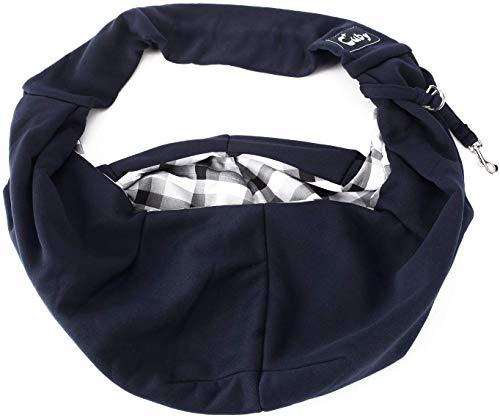 CUBY Carrier Sling Dog Small Dog Cat Sling Pet Sling Backpack Single Shoulder Pet Bag for Travel Dog Carrier Bag (Blue) 3