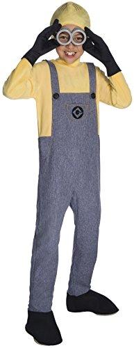 Rubie's Costume Boys Despicable Me 3 Deluxe Minion Dave Costume, Large, Multicolor