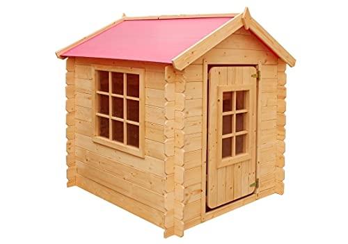 MARIMEX Casetta in legno per bambini Vilemina