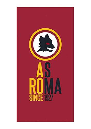 telo mare roma Telo Mare 100% Spugna di Puro Cotone CINIGLIATA Ufficiale Roma AS Originale cm 70 x 140