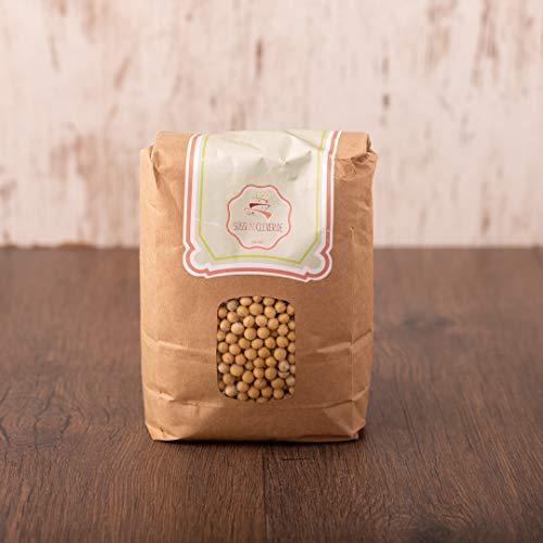 süssundclever.de® Bio Sojabohnen   getrocknet   9 kg (5 x 1,8 kg)   aus Europa   plastikfrei und ökologisch-nachhaltig abgepackt