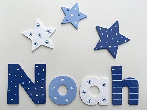 Tolle Holzbuchstaben für Kinderzimmer-Tür, Sternjunge