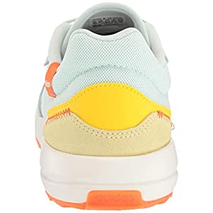 adidas Women's Retrorun Running Shoe, Dash Green/Cloud White/Orange, 8 M US