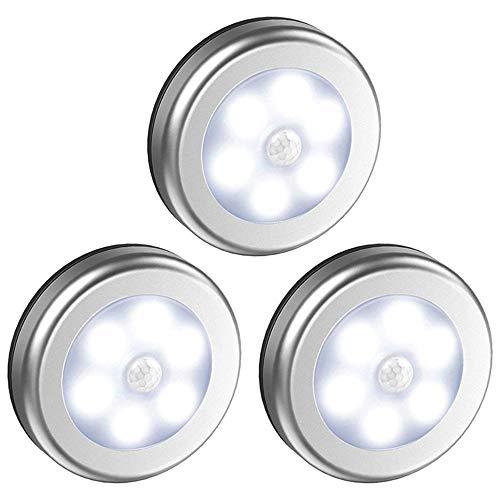 YFWDY nachtlampje voor baby, nachtkastje lamp voor kinderen, elektrische stekker, led-lichaamssensor, niet-verblindend licht, bescherming van de ogen (zonder accu)