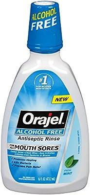 Orajel Alcohol-Free Antiseptic Mouth