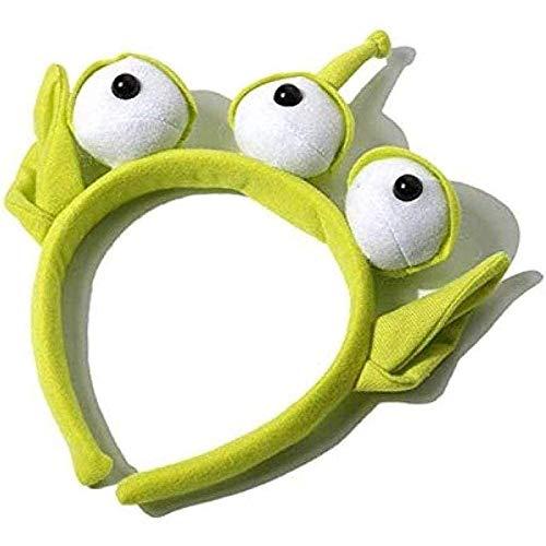 ZHYGDQ Peluches Novedad Toy Story Alien Ears Disfraz Peluche Diadema Regalos de cumpleaos para Adultos y nios