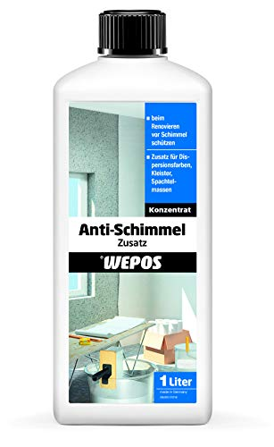Wepos 2000001159 Anti-Schimmel Zusatz 1 Liter