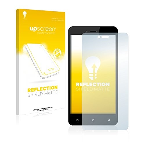 upscreen Entspiegelungs-Schutzfolie kompatibel mit Allview V2 Viper i4G – Anti-Reflex Bildschirmschutz-Folie Matt