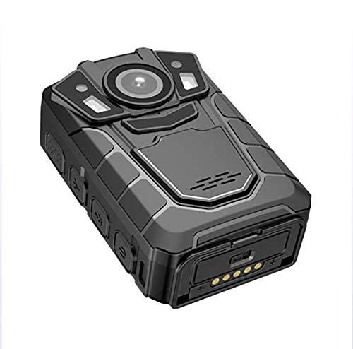 Body Worn Camera Cámara fotográfica del Cuerpo de la policía de HD 1080P Recorde Video con la visión Nocturna Ayuda Dual incorporada 4G / WiFi/GPS del micrófono,64G