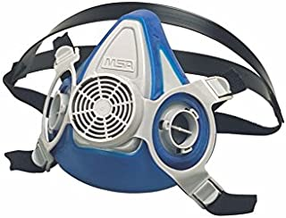 MSA (Mine Safety Appliances) 815452 Large Advantage 200 LS Series Half Mask Air Purifying Respirator, English, 1.534 fl. oz, Plastic, 1