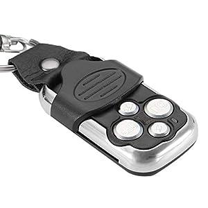 Pannow-Mando-a-Distancia-elctrico-para-Puerta-de-Garaje-de-Coche-390-MHz-para-Sears-Liftmaster-12-V-con-transmisor-de-Control-Remoto-inalmbrico-para-Barra-de-luz-LED-ATV-SUV-2-Cables