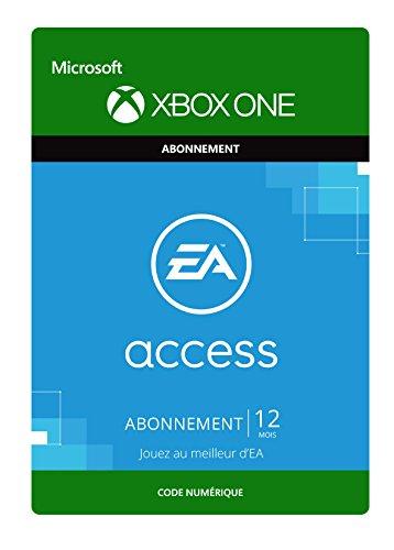 EA Play – Abonnement d'un an [Extension du Jeu] [Xbox One – Code jeu à télécharger