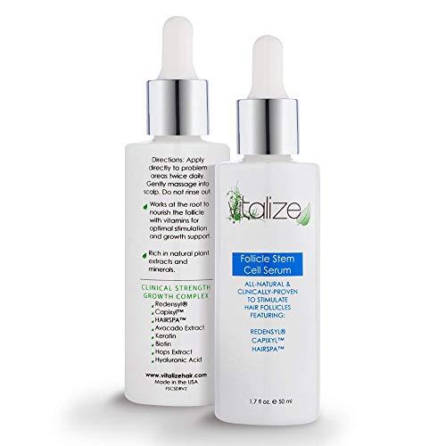 Vitalize Hair Follicle Stem Cell Serum: Redensyl